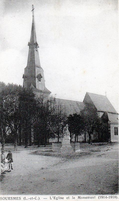 Eglise St Julien Souesmes